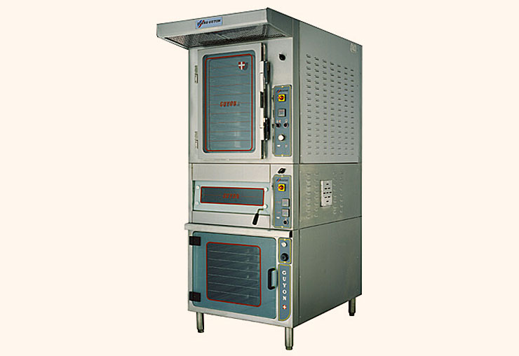 guyon west bakery equipment convection ovens