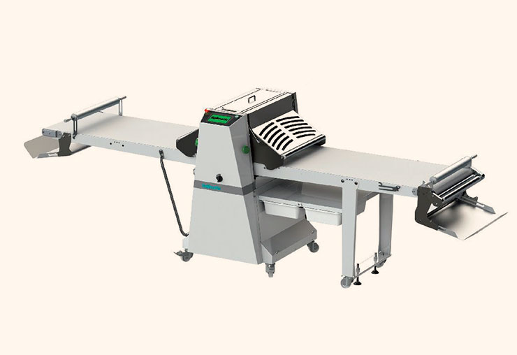 guyon west bakery equipment fully automatic sheeter
