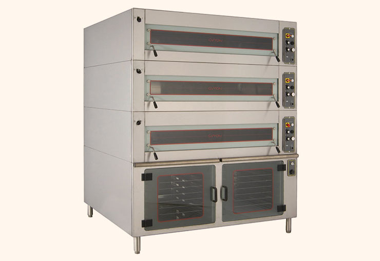 guyon west bakery equipment modular deck oven
