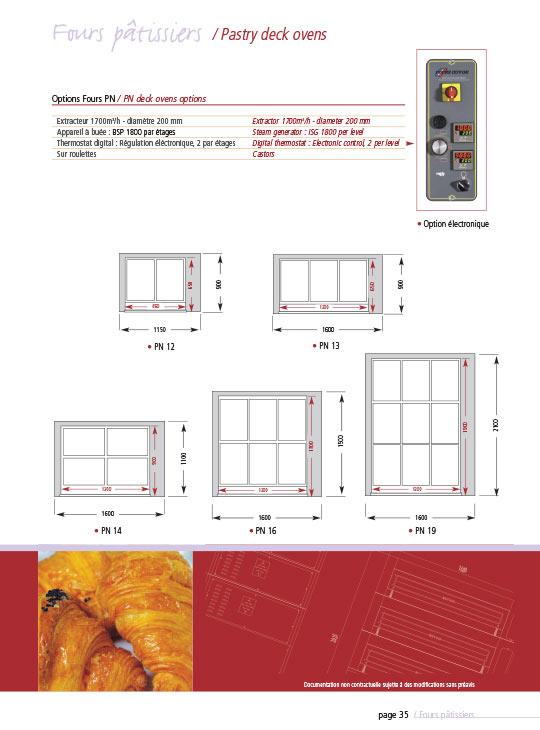 guyon west modular deck oven