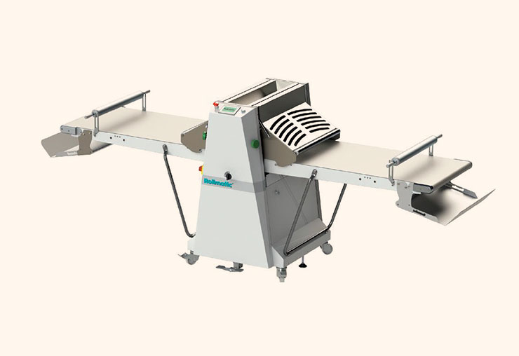guyon west bakery equipment semi automatic sheeter