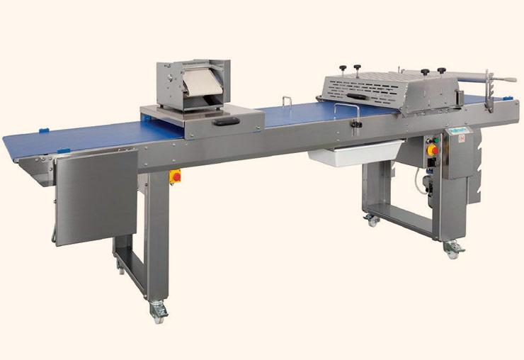 guyon west bakery equipment work bench rollmatic